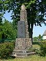 Benzin (Kritzow) Kriegerdenkmal 1914-18.JPG