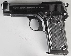 Beretta M1923 - Left side view of the Beretta M1923