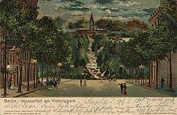 Wasserfall Victoria Park Georg Brunner, Nürnberg / Public domain