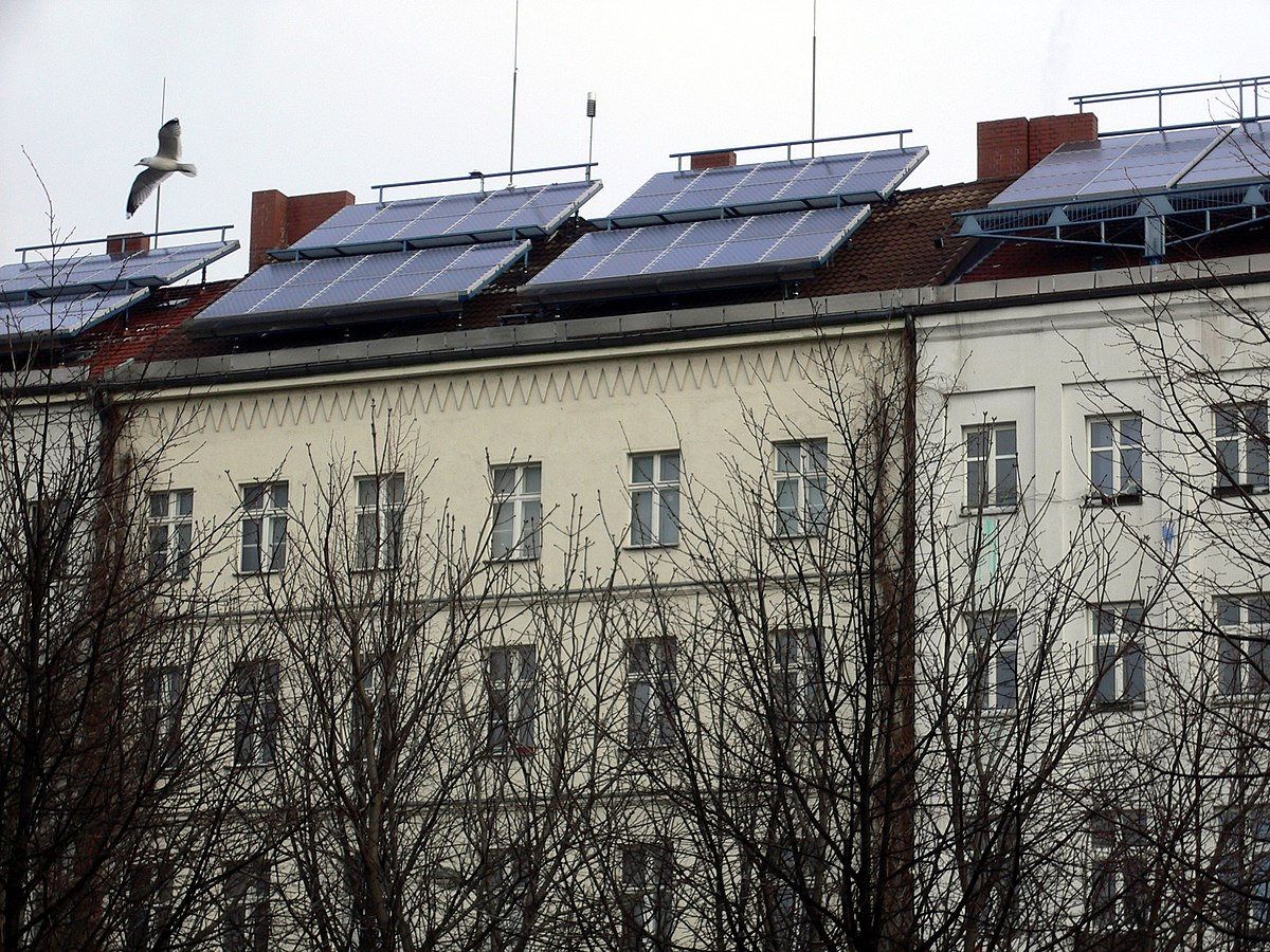 Photovoltaic System Wikimedia Commons