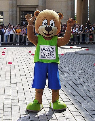 "2009 World Championships in Athletics - Mascot ""Berlino"""
