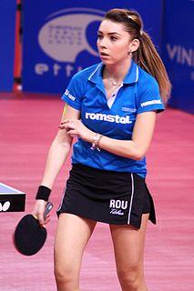 Bernadette Szőcs Romanian table tennis player