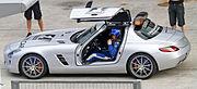Bernd Maylander and Mercedes-Benz SLS Safety Car 2010 Malaysia