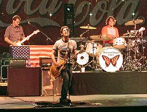 Better Than Ezra - Better Than Ezra performing live in Nashville, Tennessee in 2002.