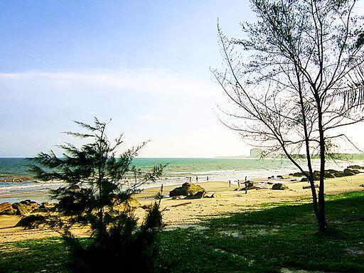 Biển ở Hồ Cóc, Bưng Riềng