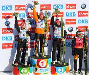 Biathlon WC 2015 Nové Město – women sprint 2