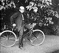 Bicycle, carbide lamp Fortepan 3074.jpg
