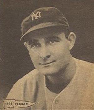 Bill Knickerbocker - Image: Bill Knickerbocker 1940 Play Ball card