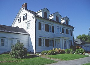 English: The Billings Estate Museum. The house...