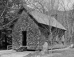 Biltmore Forestry School, Schoolhouse, Brevard vicinity (Transylvania County, North Carolina).jpg