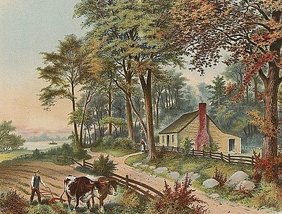 Grant's birthplace: Point Pleasant, Ohio Birthplace of Ulysses S Grant, color illustration, cropped.jpg