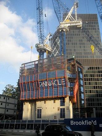 22 Bishopsgate - Image: Bishopsgate Tower Construction, November 2010