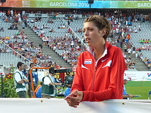 Blanka Vlašić - Blanka Vlašić at the 2010 European Championships in Barcelona.