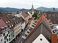 Blick von der Dachterrasse Kaiser-Joseph-Straße 192 in Freiburg Richtung Martinstor.jpg