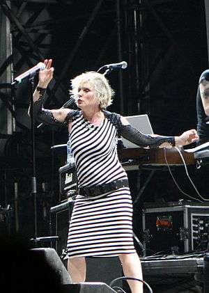 Summercase - Blondie at the 2008 festival in Barcelona.