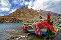 Boat at attabad lake Hunza.jpg