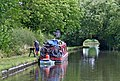 Boat maintenance, near Acton Trussell, Staffordshire - geograph.org.uk - 1478993.jpg
