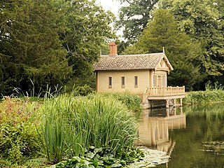 Boathouse at Belton House