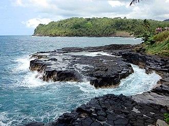 São Tomé Island - Image: Boca do Inferno (20394576524)