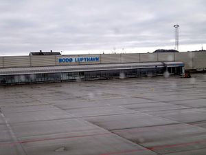 Bodø Airport - The small planes Terminal