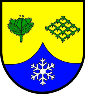 Snowflake (heraldry) - Image: Boexlund Wappen