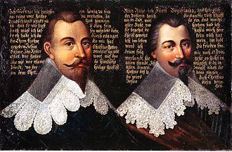 Bogislaw XIV, Duke of Pomerania - Gustavus Adolphus and Bogislaw XIV.