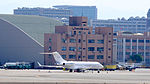 Bombardier BD-700 Global Express B-8195 at Taipei Songshan Airport 20150913a.jpg