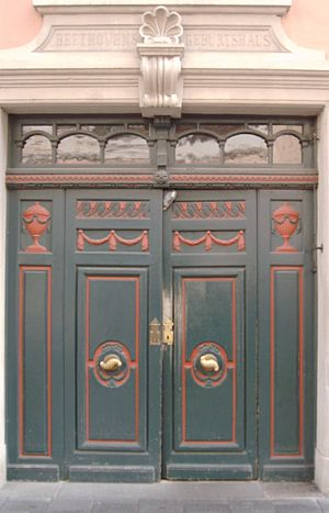 Beethoven House - Portal of Bonngasse 20
