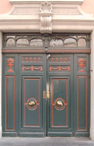 Beethoven House - Portal of Bonngasse 20