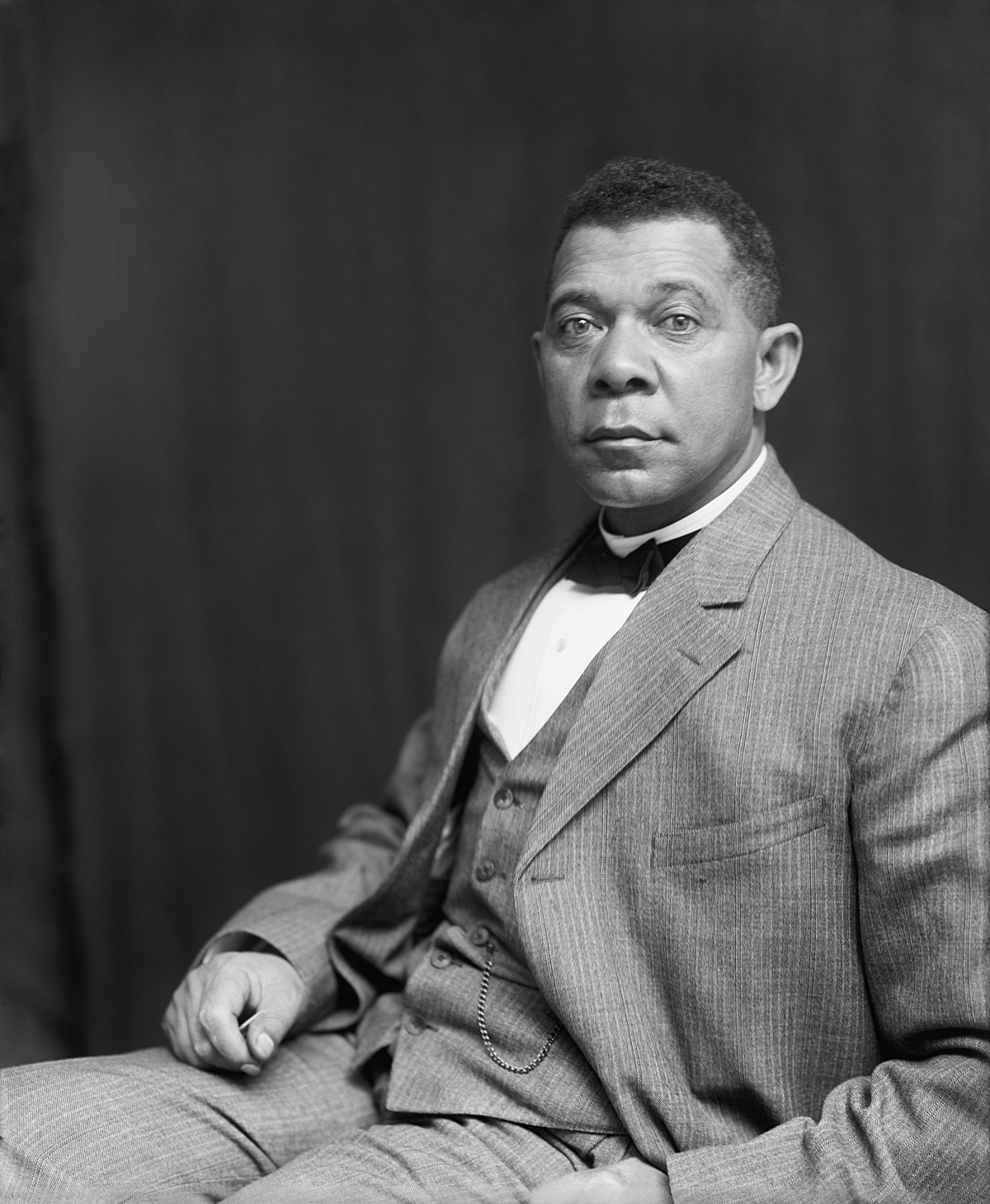 the strategies of booker t washington Booker t washington's self-help philosophy argued against political action and for an accommodation with racism.