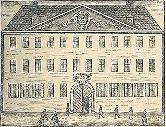 Borchs Kollegium - The main entrance