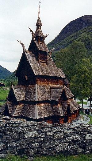 Lærdal - Borgund stave church