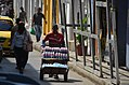 Bottled water supplier, Cartagena, Colombia Street Scenes (24418674585).jpg