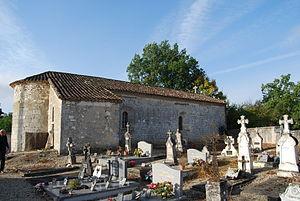 Boudy-de-Beauregard - The church in Boudy-de-Beauregard
