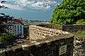 Boulogne-sur-Mer - Ville Haute - Rampart of Fortifications - Porte des Degrés - View West.jpg