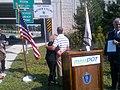 Bourne, Staff Sergeant Pucino Bridges Dedication, September 14, 2012 (7986213795).jpg