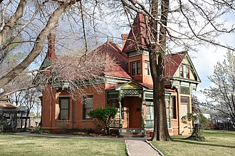 National Register of Historic Places listings in Kane County, Utah - Image: Bowman Chamberlain House (Kanab, Utah)
