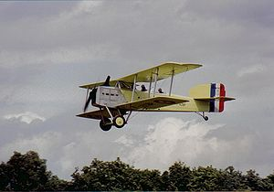 Aeroposta Argentina - A Breguet 14 aircraft used on the Casablanca–Dakar route.