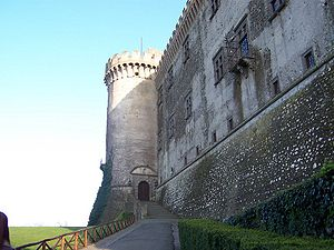 Bracciano - A view of the Castello Orsini-Odescalchi.