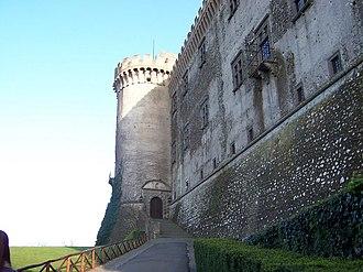 Bracciano - A view of the Castello Orsini-Odescalchi.