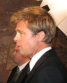 A photograph of Brad Pitt at the 2007 Palm Springs International Film Festival.