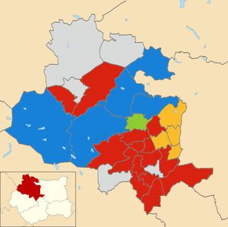 2016 City of Bradford Metropolitan District Council election - 2016 local election results in Bradford