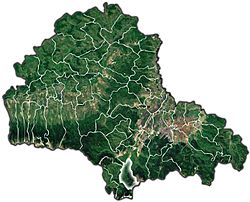 Location of Bran, Brașov