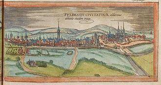 Fulda - Fulda in the 16th century