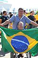Brazil and Croatia match at the FIFA World Cup (2014-06-12; fans) 42.jpg