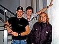 Brazilian band KLB (Left to right- Kiko, Bruno and Leandro).jpg