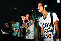 Skupina Breathe Carolina v roku 2009