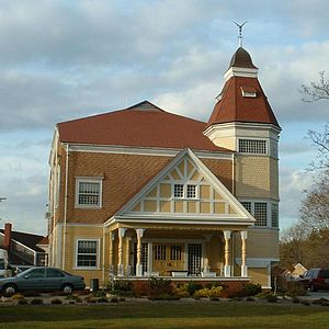 Brewster, Massachusetts - The Old Brewster Town Hall