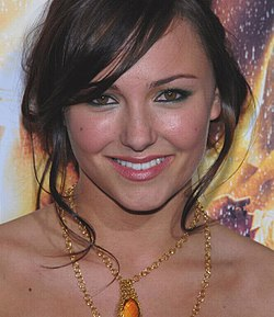 Briana Evigan Step Up 2 the Streets -elokuvan ensi-illassa.