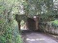 Bridge beneath a garden - geograph.org.uk - 766805.jpg